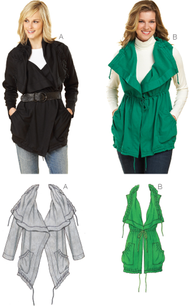 Kwik Sew Jacket & Vest 3624