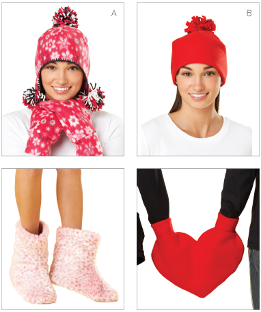 Kwik Sew Hats, Mittens & Booties 3627