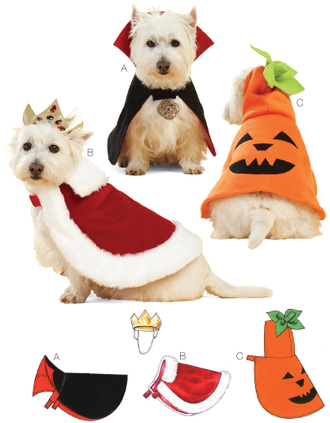 Kwik Sew Pet Costumes 3629