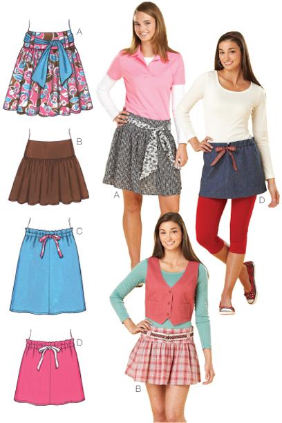 Kwik Sew Skirts 3631
