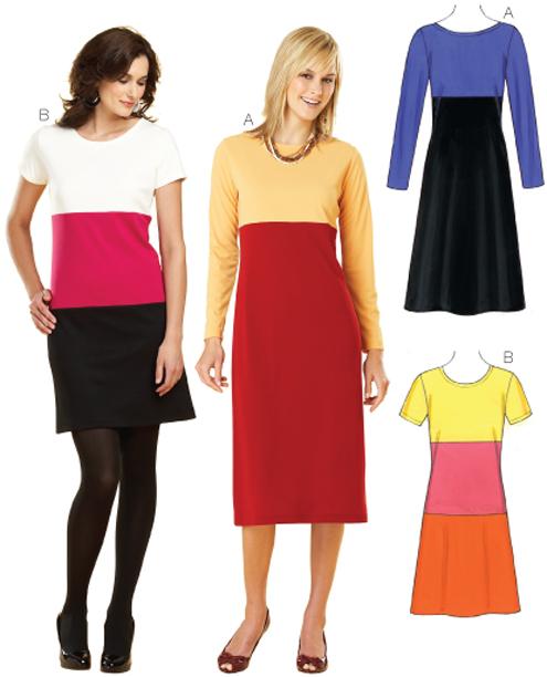 Kwik Sew Dresses 3633