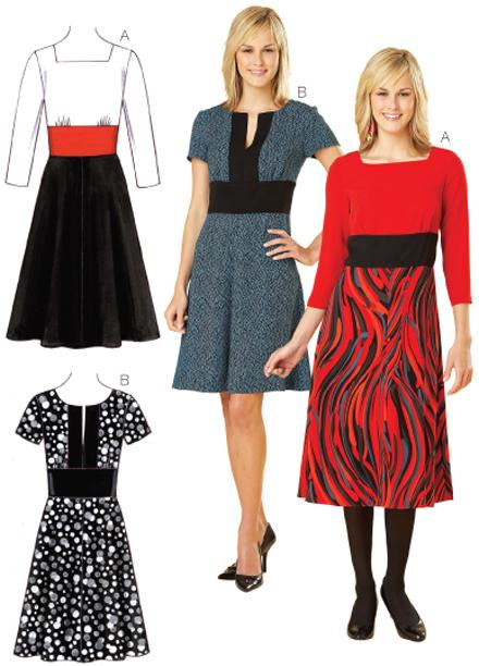Kwik Sew Dresses 3634