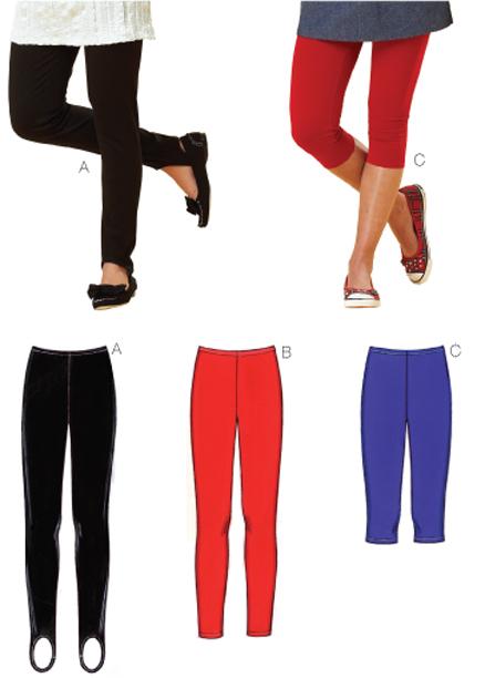 Kwik Sew Leggings 3636