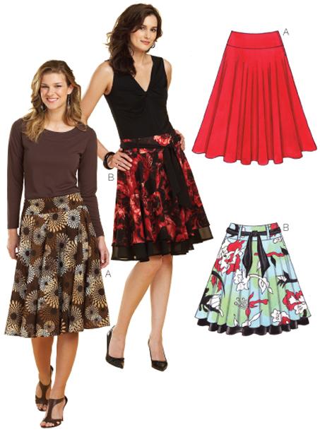 Kwik Sew Skirts 3637