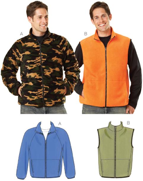Kwik Sew Jacket & Vest 3638