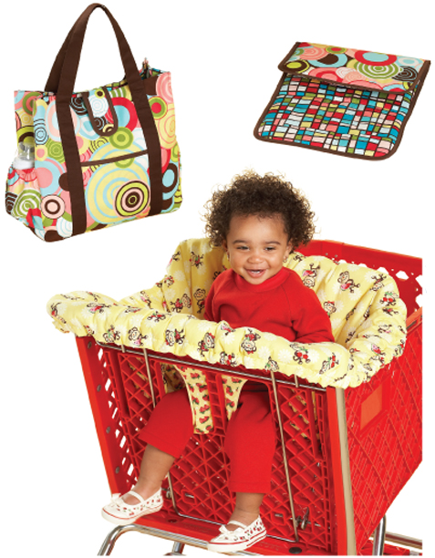 Kwik Sew Shopping Cart Seat Cover & Diaper Bag with Changing Pad 3643