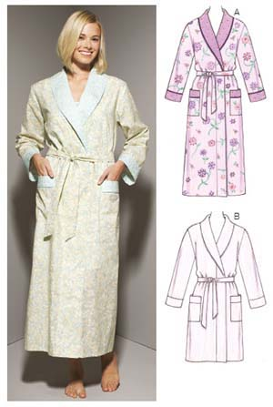 Kwik Sew Misses' Robes 3644
