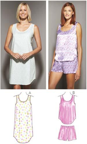 Kwik Sew Misses' Sleepwear 3645