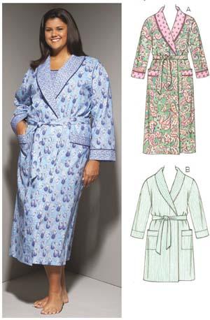 Kwik Sew Women's Robes 3646