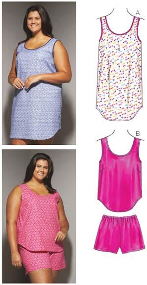 Kwik Sew  Women's Sleepwear 3647