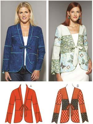 Kwik Sew  Misses' Jackets 3653