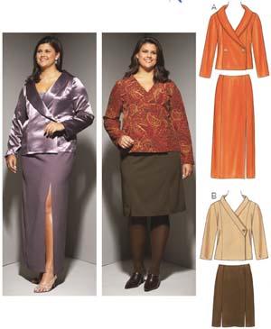 Kwik Sew  Women's Jackets & Skirts 3656