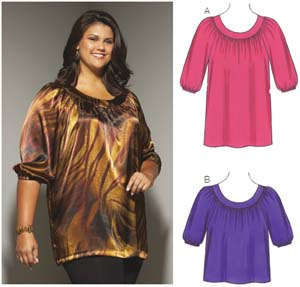 Kwik Sew  Women's Tunic & Top 3657
