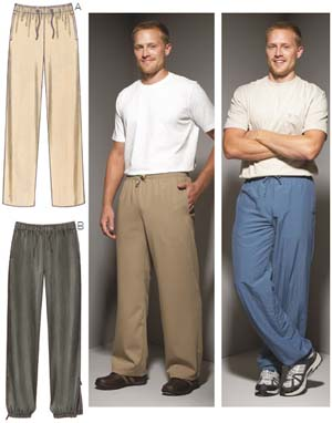 Kwik Sew  Men's Pants 3663