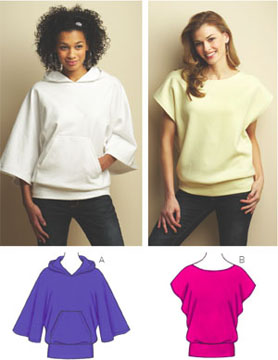 Kwik Sew Pullovers 3667