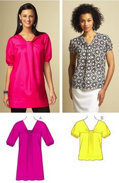 Kwik Sew Top & Tunic 3670
