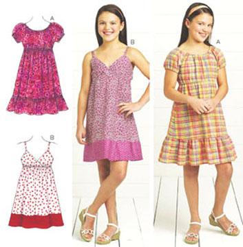 Kwik Sew Dresses 3674