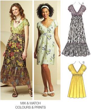 Kwik Sew Dresses 3675