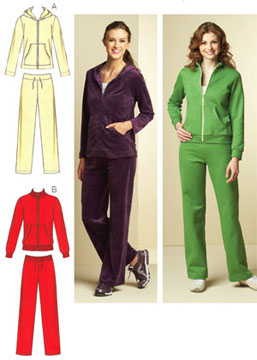 Kwik Sew Jackets & Pants 3678