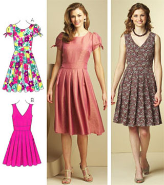 Kwik Sew Dresses 3682