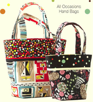 Kwik Sew All Occasions Hand Bags 3684