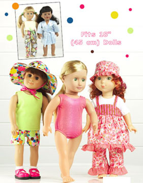 Kwik Sew Playtime Doll Clothes 3688