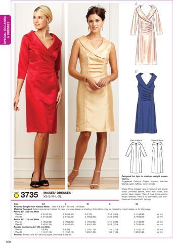 Kwik Sew Dresses 3735