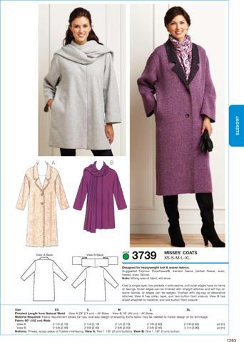 Kwik Sew Coats 3739