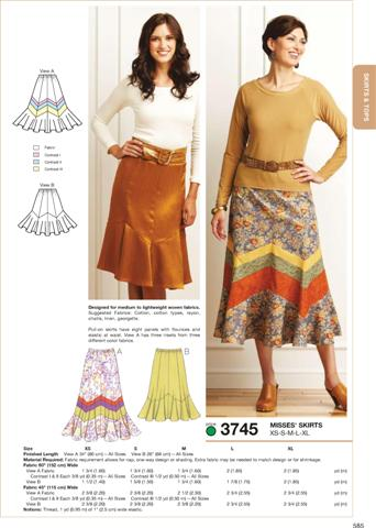 Kwik Sew Skirts 3745