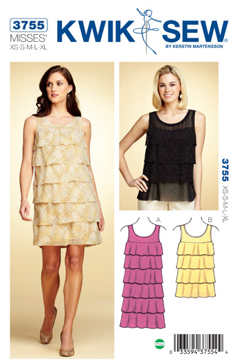 Kwik Sew Dress and Top 3755