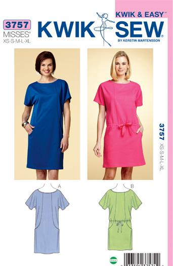 Kwik Sew Dresses 3757