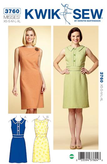 Kwik Sew Dresses 3760