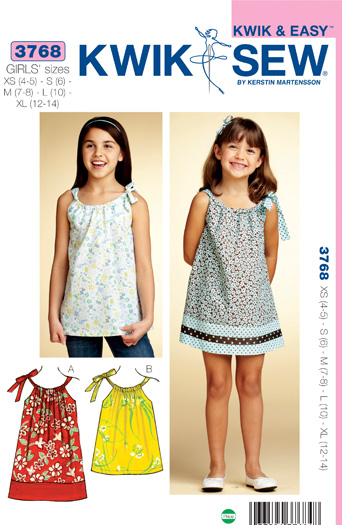 Kwik Sew Dress & Tunic 3768
