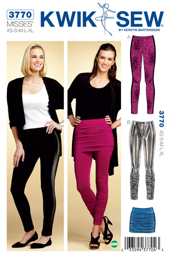 Kwik Sew Leggings & Skirt 3770