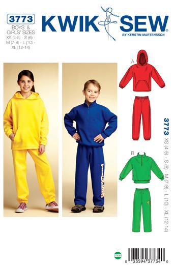 Kwik Sew Shirts & Pants 3773
