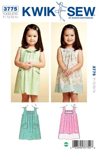 Kwik Sew Dresses 3775