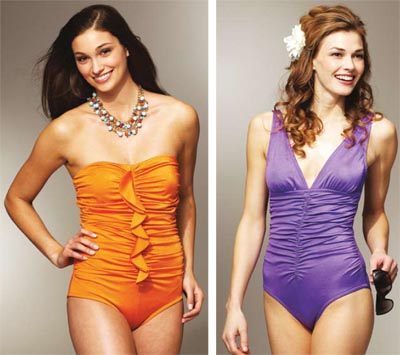 Kwik Sew Shirred Swimsuits 3779