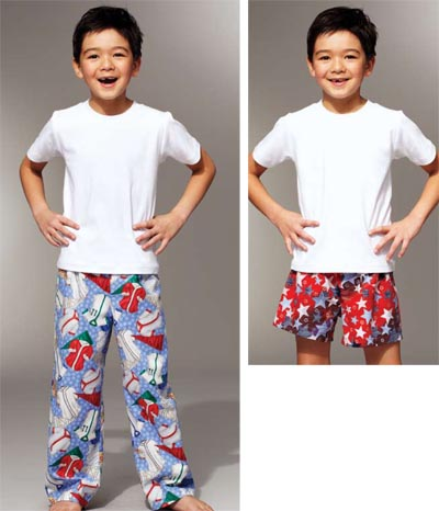 Kwik Sew Sleep Pants & Shorts 3786
