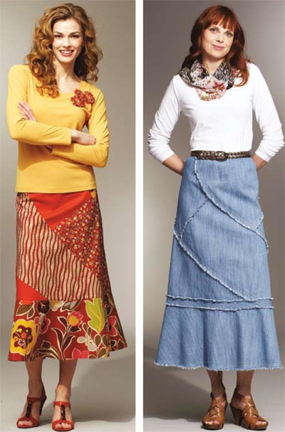 Kwik Sew Patchy Skirts 3789
