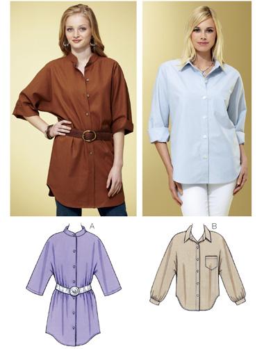 Kwik Sew Shirts 3800