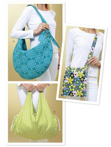 Kwik Sew Metro Bags 3805