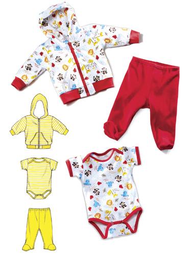 Kwik Sew Jacket, Pants & Romper 3811
