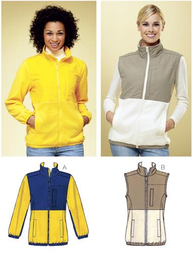Kwik Sew Jacket & Vest 3813