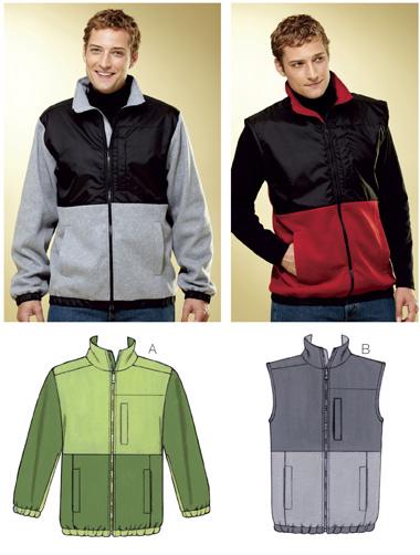 Kwik Sew Jacket & Vest 3815