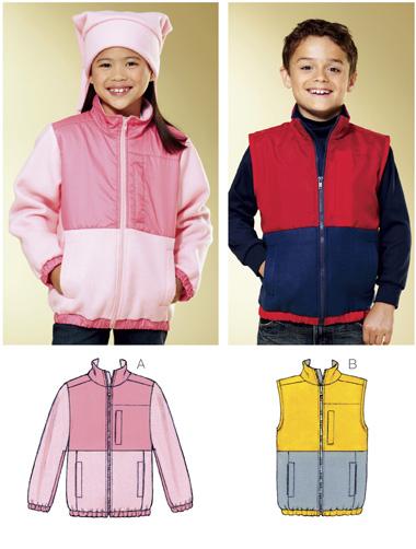Kwik Sew Jacket & Vest 3816