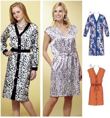 Kwik Sew Dresses 3820