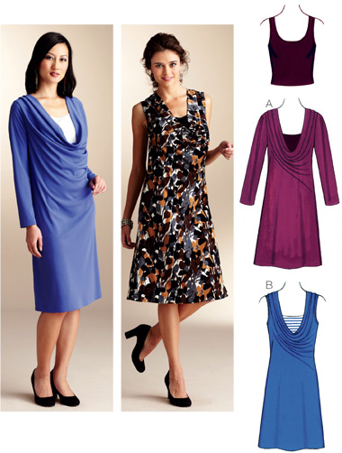 Kwik Sew Dresses & Top 3825