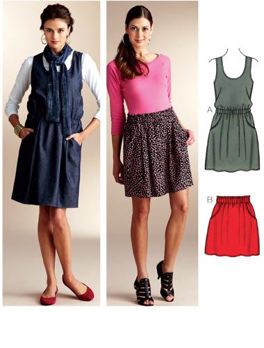 Kwik Sew Jumper & Skirt 3830