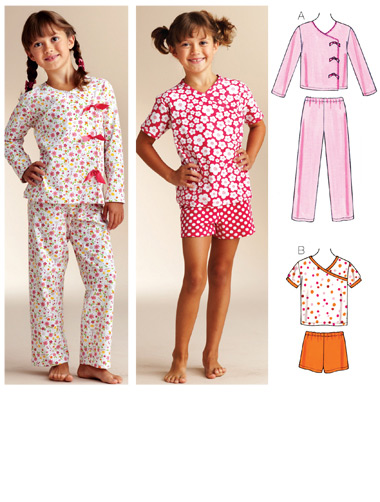 Kwik Sew Sleepy-time Pajamas 3831