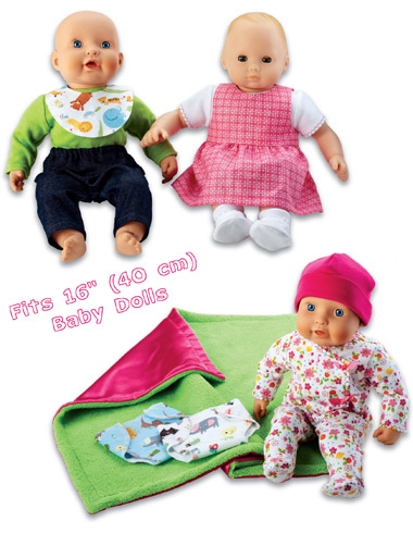 Kwik Sew Doll Clothes 3834